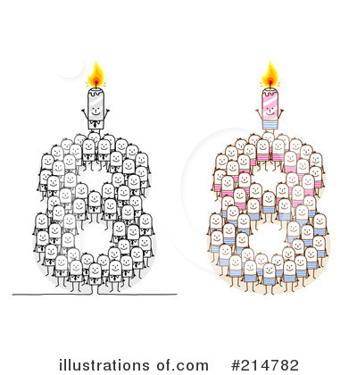 Birthday Candle Clipart #214782 by NL shop
