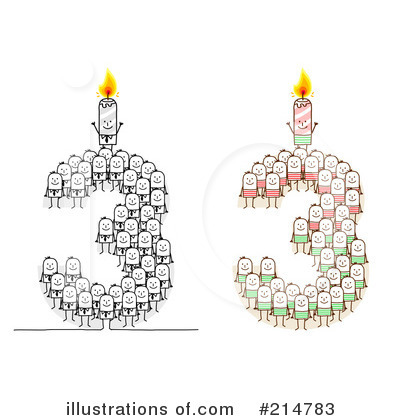 Birthday Candle Clipart #214783 by NL shop