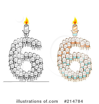 Birthday Candle Clipart #214784 by NL shop