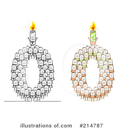 Birthday Candle Clipart #214787 by NL shop