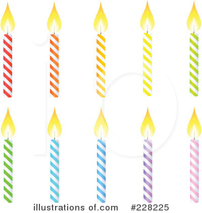 Birthday Candle Clipart #228225 by Tonis Pan