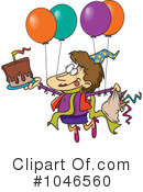 Birthday Clipart #1046560 by toonaday