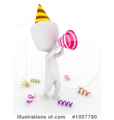 Royalty-Free (RF) Birthday Clipart Illustration by BNP Design Studio - Stock Sample #1057790