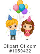 Royalty-Free (RF) birthday Clipart Illustration #1059432