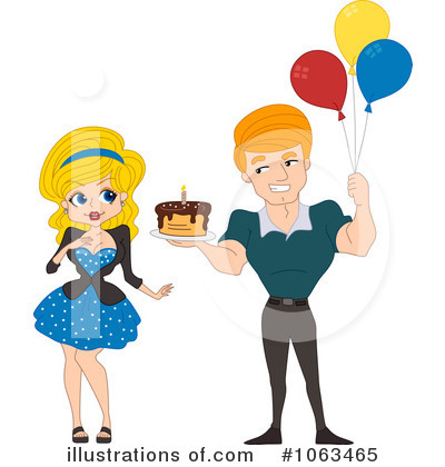 Party Balloons Clipart #1063465 by BNP Design Studio