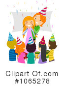 Royalty-Free (RF) birthday Clipart Illustration #1065278