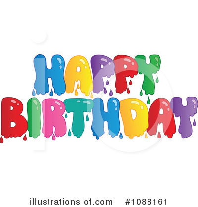 Happy Birthday Clipart #1088161 by visekart