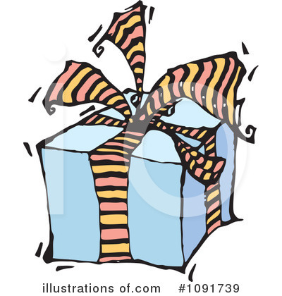 Birthday Clipart #1091739 by Steve Klinkel
