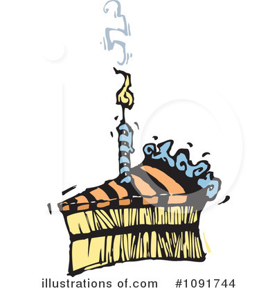 Birthday Clipart #1091744 by Steve Klinkel