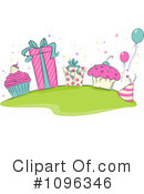 Royalty-Free (RF) Birthday Clipart Illustration #1096346