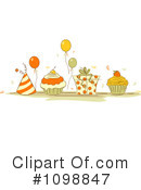 Royalty-Free (RF) Birthday Clipart Illustration #1098847
