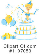 Birthday Clipart #1107053 by Amanda Kate
