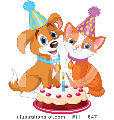 Birthday Party Clipart #1111647 by Pushkin