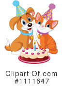 Birthday Clipart #1111647 by Pushkin