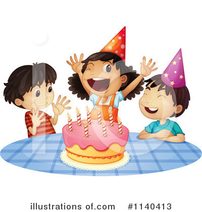 Birthday Clipart #1140413 by Graphics RF