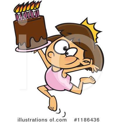 Birthday Clipart #1186436 by toonaday