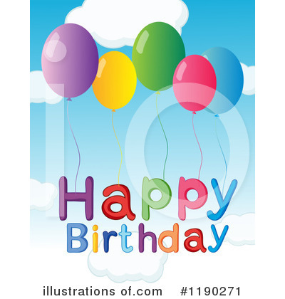 Happy Birthday Clipart #1190271 by Graphics RF