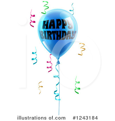 Happy Birthday Clipart #1243184 by AtStockIllustration