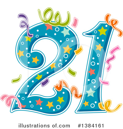 Birthday Clipart #1384161 by BNP Design Studio