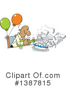 Birthday Clipart #1387815 by Johnny Sajem