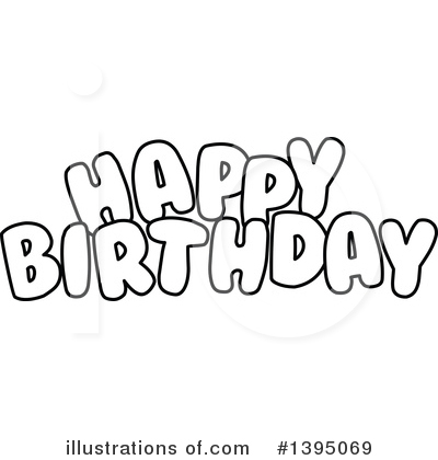 Birthday Clipart #1395069 by Liron Peer