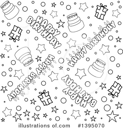 Birthday Clipart #1395070 by Liron Peer