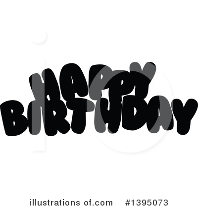 Birthday Clipart #1395073 by Liron Peer