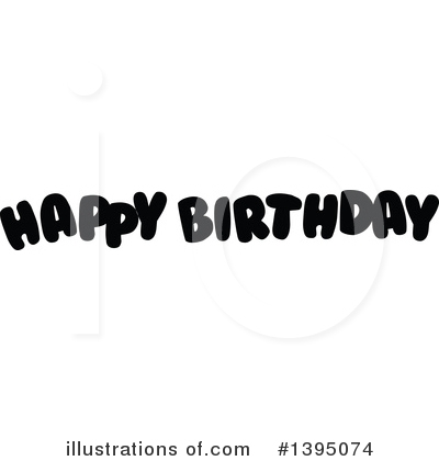 Birthday Clipart #1395074 by Liron Peer