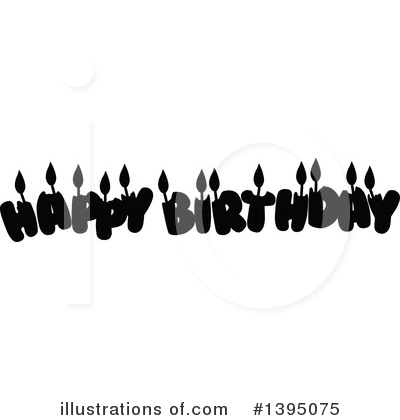 Birthday Clipart #1395075 by Liron Peer