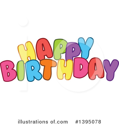 Birthday Clipart #1395078 by Liron Peer