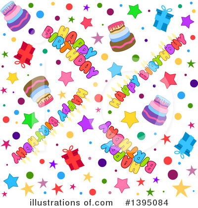 Birthday Clipart #1395084 by Liron Peer