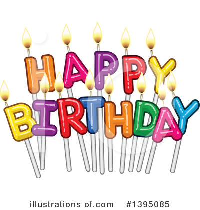 Birthday Clipart #1395085 by Liron Peer