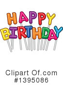 Birthday Clipart #1395086 by Liron Peer