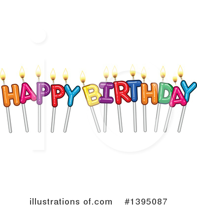 Birthday Clipart #1395087 by Liron Peer