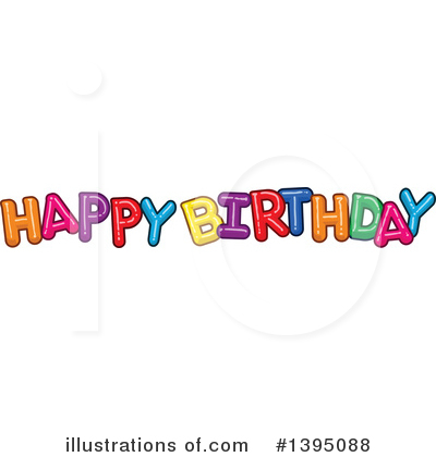 Birthday Clipart #1395088 by Liron Peer