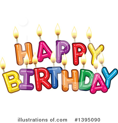 Birthday Clipart #1395090 by Liron Peer