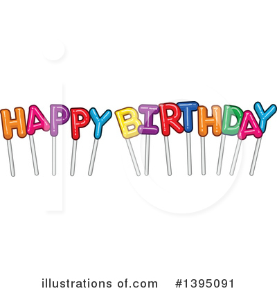 Birthday Clipart #1395091 by Liron Peer