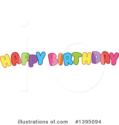 Birthday Clipart #1395094 by Liron Peer