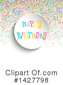 Birthday Clipart #1427798 by KJ Pargeter