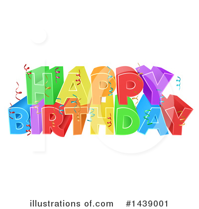 Birthday Clipart #1439001 by AtStockIllustration