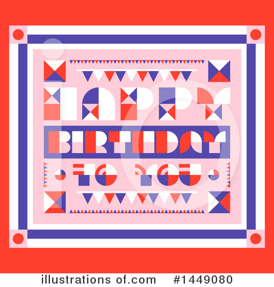 Royalty-Free (RF) Birthday Clipart Illustration by elena - Stock Sample #1449080