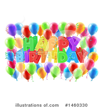 Happy Birthday Clipart #1460330 by AtStockIllustration