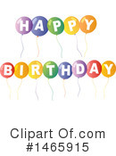 Birthday Clipart #1465915 by Graphics RF