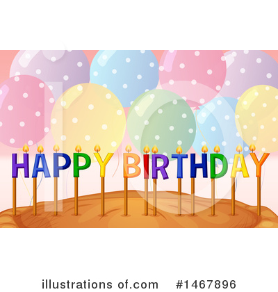 Birthday Cake Clipart #1467896 by Graphics RF