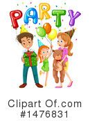 Birthday Clipart #1476831 by Graphics RF