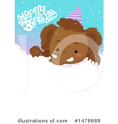 Mammoth Clipart #1478688 by BNP Design Studio