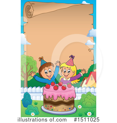 Birthday Cake Clipart #1511025 by visekart