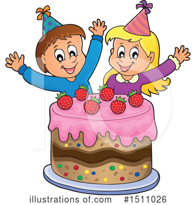 Birthday Cake Clipart #1511026 by visekart