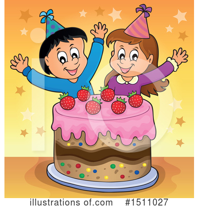 Birthday Cake Clipart #1511027 by visekart