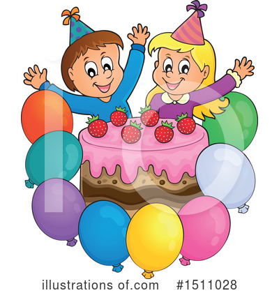 Birthday Cake Clipart #1511028 by visekart